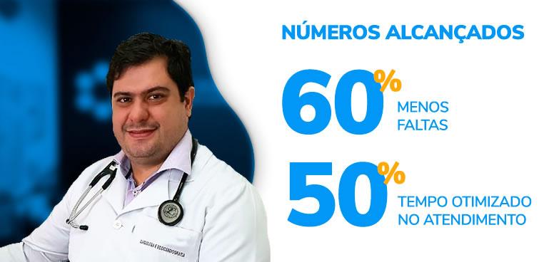 Clinica Domo utilizando Software Médico